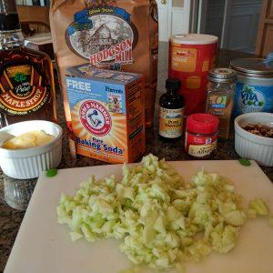 Whole Wheat Apple Cinnamon Mini Muffins ingredients